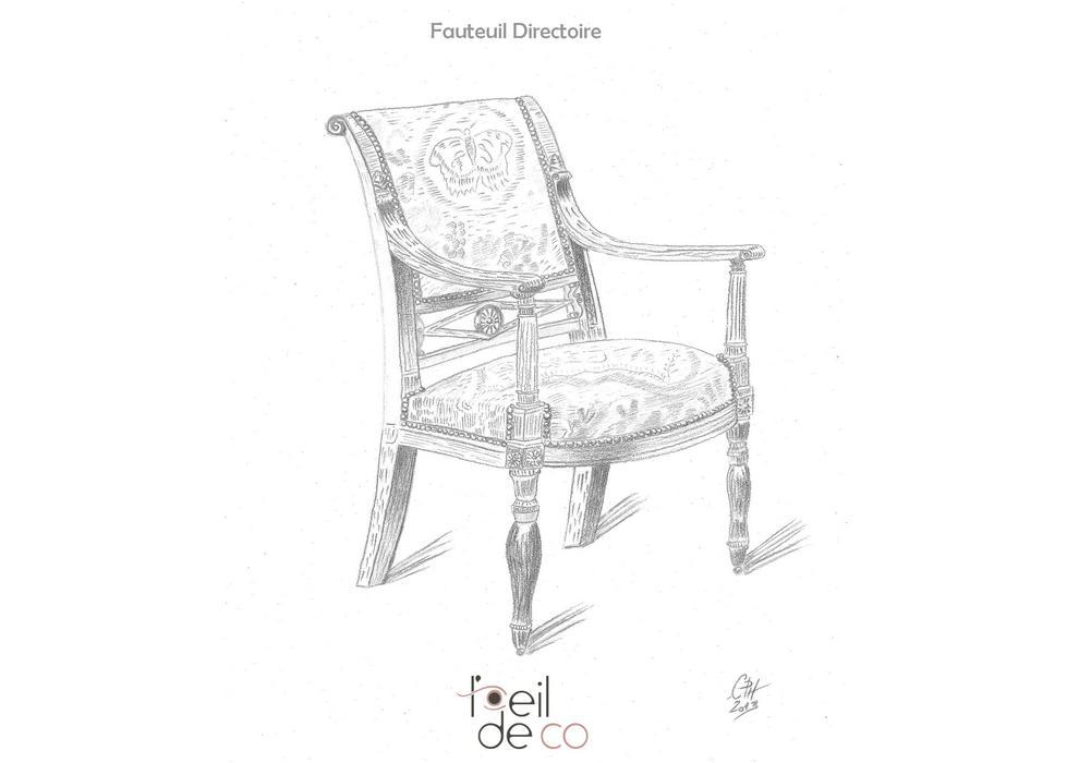 Dessin_Fauteuil_Directoire_portfolio