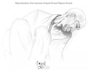Homme, d'après Pignon-Ernest