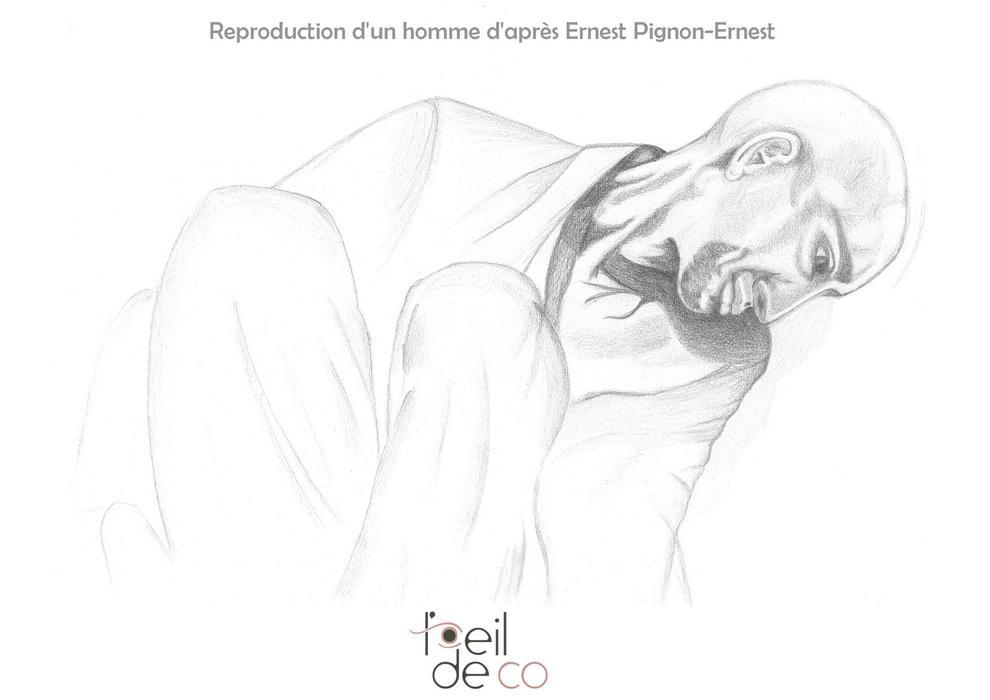 Dessin_Homme_ernest_pignon-ernest_portfolio
