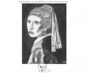 «La jeune fille au turban»