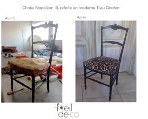 Chaise Napoléon III