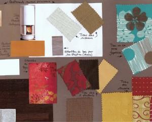 Planche tendance – Inspiration d'une décoration à partir d'un tapis