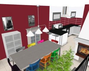 Réaménagement Salon/Salle à Manger/Cuisine