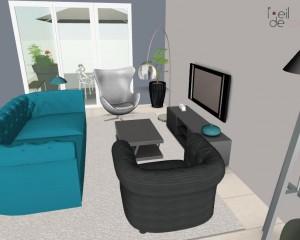 Appartement 76 m² avec terrasse