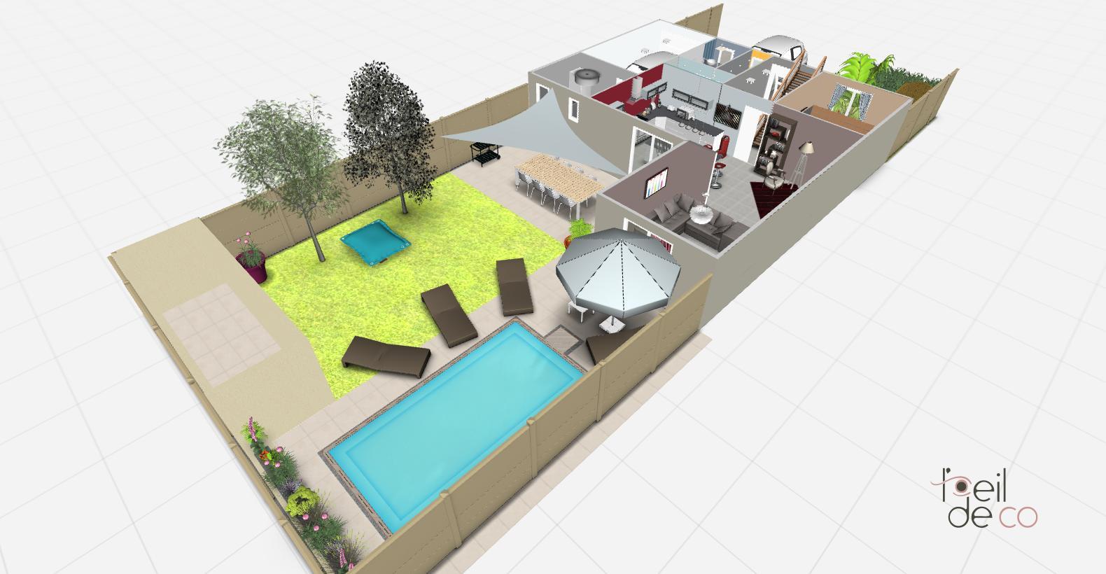 L\'OEIL DE CO Aménagement d\'une maison, ainsi que son jardin - L\'OEIL ...