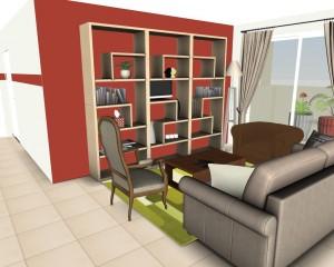 Appartement 70m² avec 2 chambres
