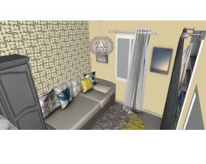 Aménagement d'une petite chambre