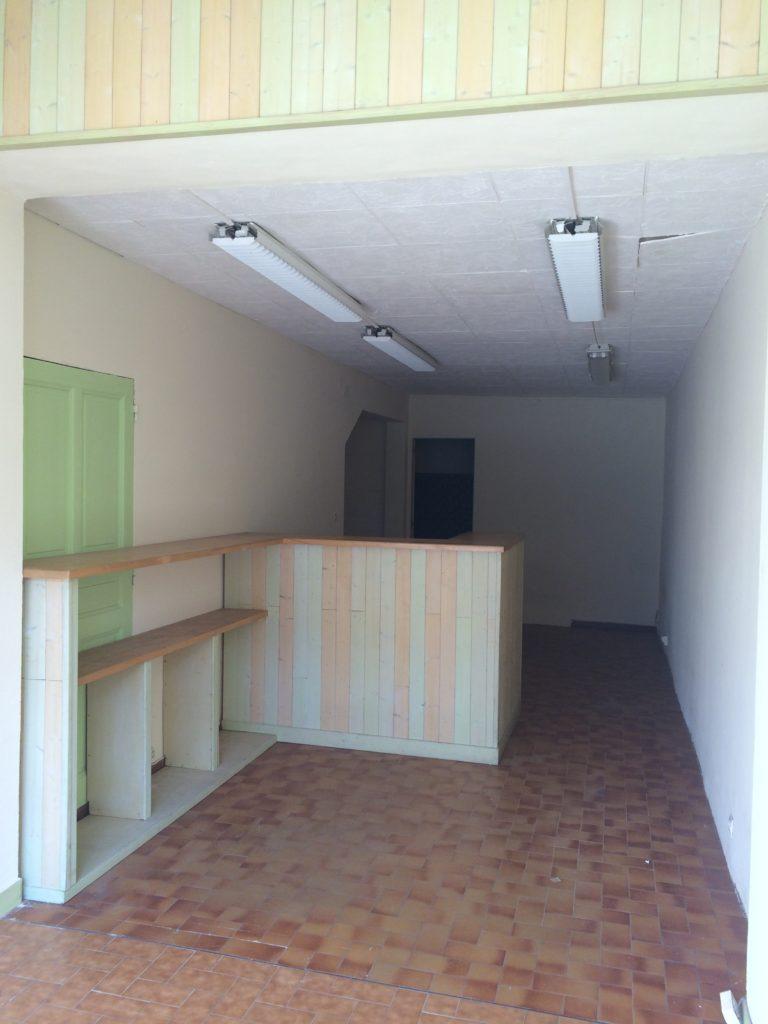 l'oeil de co aménagement intérieur d'un futur institut de beauté - l