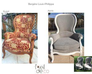 2 Bergères Louis-Philippe