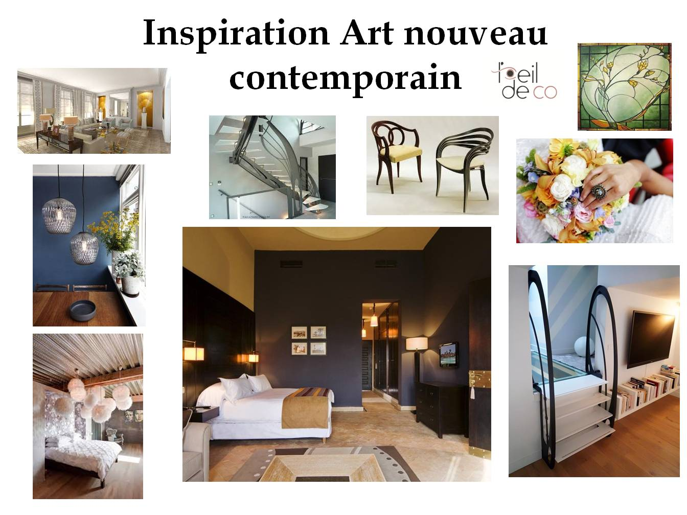 L 39 oeil de co planche tendance art nouveau contemporain l for Inspiration design d interieur
