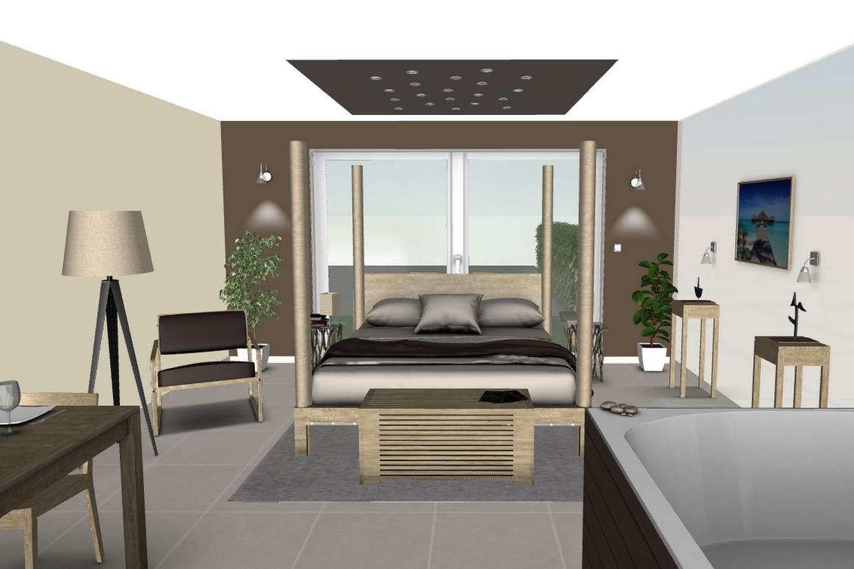 l 39 oeil de co cr ation d 39 une chambre d 39 h te l 39 oeil de co. Black Bedroom Furniture Sets. Home Design Ideas
