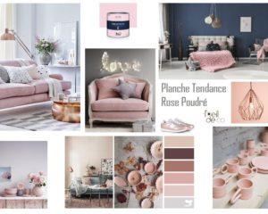 Planche Tendance Rose Poudré